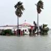 Playa Poniente Flooded