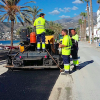 Seafront Road Tarmacked