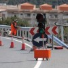 N-340 Crash Barrier Work