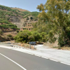 Car Plunges Down Barranco