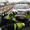Motorbike Policeman Injured