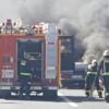 Car Fire A-44 Near Dúrcal
