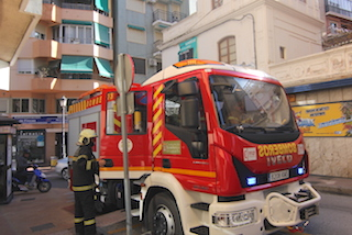 ALM Bomberos in action