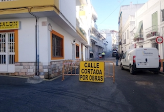LHR Calle Real Closed for Roadworks