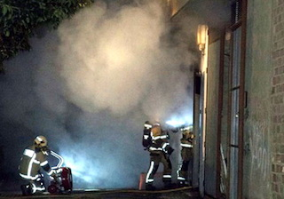 Transformer Fire in Salobreña