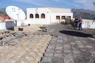 Casa de la Cultura Roof Repairs