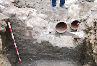 Roman-Era Wall Uncovered