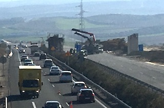 Motorway Roadwork Chaos