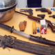 Arms and Drugs Bust
