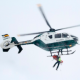 Skier Evacuated by Helicopter