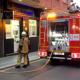 Flat Fire Interrupts Procession
