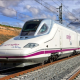 High-Speed Train to Madrid