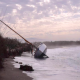 Yacht Runs Aground in Salobreña