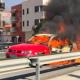Car Fire on N-340, Carchuna