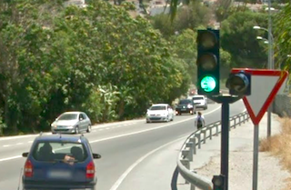 ALM P-4 Traffic Light