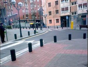 AND pavement bollards