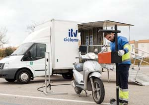 ALM Mobile ITV for Mopeds OnL