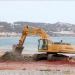 LHR Beach Defence Work OnL