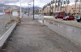 SAL Beachfront Storm Damage