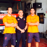 AND Sevilla Firemen in Greece