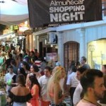 ALM Shopping Night 18th August 01