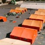 MOT Immigrants Port Tents OnL