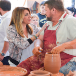 ALP Susana Diaz in Pampaneira for 2018 craft fair