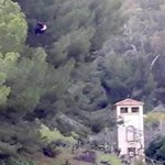 ALM Paraglider hanging in a tree