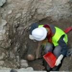 ALM Skull Found in Church Dig