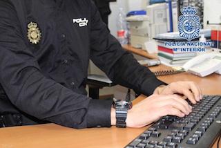 SPN Policia Nacional on Keyboard