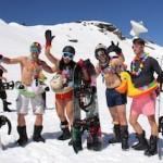 GRA Bikini Skiing