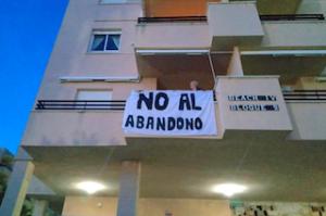 SAL Beach Protest