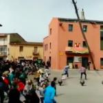 SPN Falling Tree Misses Crowd