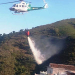 ALM Helicopter water bombing