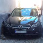 GRA Car Jammed in narrow alley