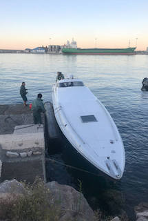 MOT Yacht Transporting Drugs