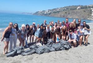 SAL US Beach Clean Up