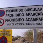 MOT Playa Granada, prohibido aparcar