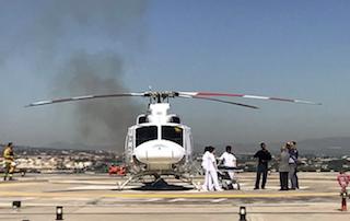 GRA Helicopter Hospital Landing