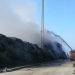 MOT Vegetation Recycling Plant Fire