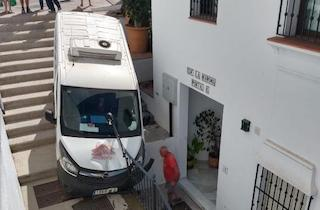 NRJ Frigiliana Delivery Van Incident