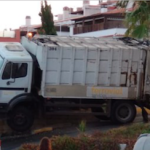 SAL Refuse Lorry Accident OnL
