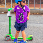 SAL scooter rider