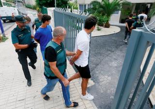 SPN French rape suspects benidorm