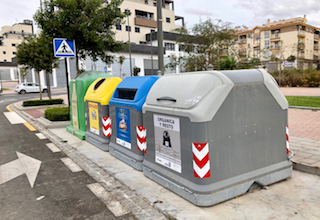 MOT Recycling Bins
