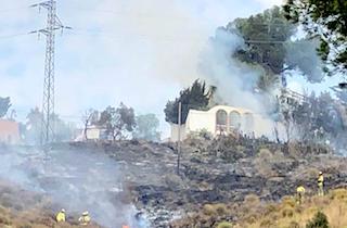 SAL Costa Aguilera Fire