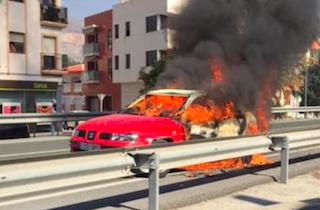 ECO N340 Car Fire Carchuna
