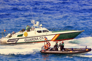 GRA Guardia Civil Servicio Maritimo