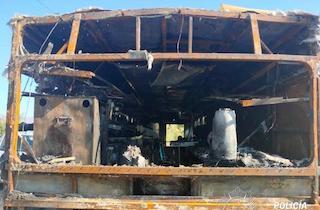 SAL Food Truck Fire