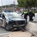 AXA Patrol Car Accident